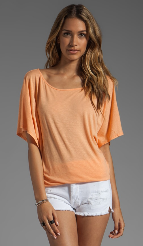 Short Sleeve Off-Shoulder Dolman