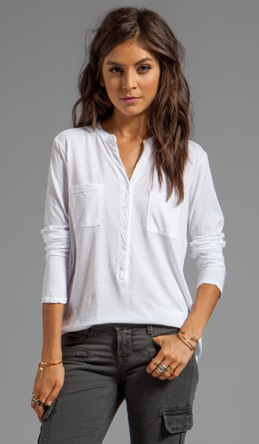 Beautiful Tees Long Sleeve Henley