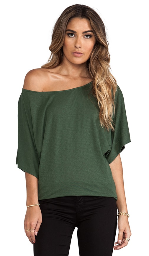 Short Sleeve Off the Shoulder Dolman