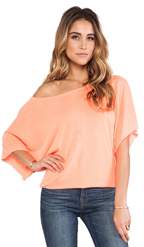 Off the Shoulder Dolman Tee