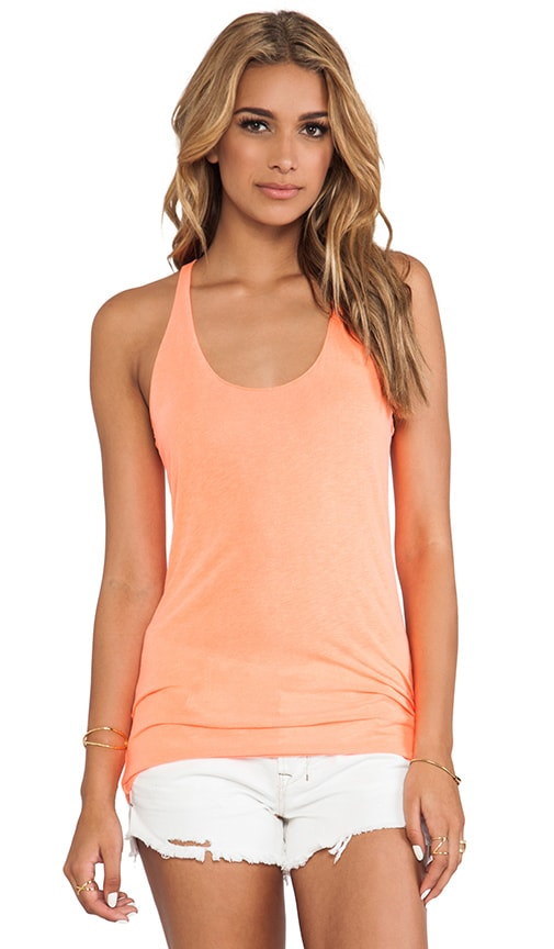 Scoop Neck Racerback Tank