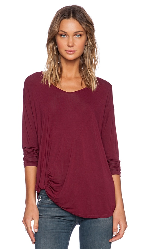 Long Sleeve with Side Twist