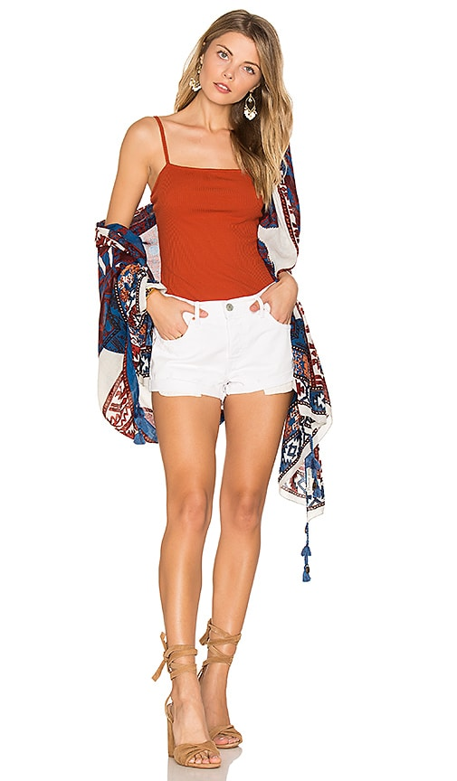 Michael Stars Tulum Dancer Scarf in Red