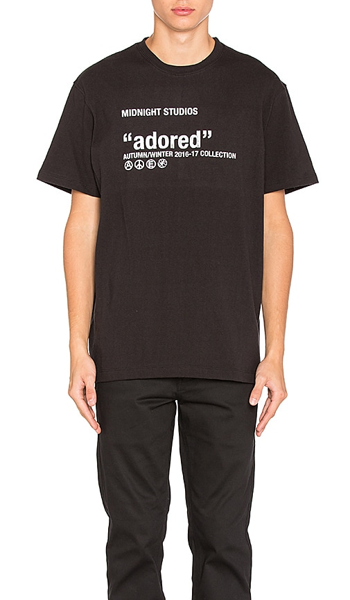 Midnight Studios Adored Tee in Black
