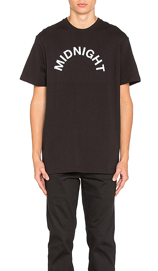 Midnight Studios Logo Tee in Black