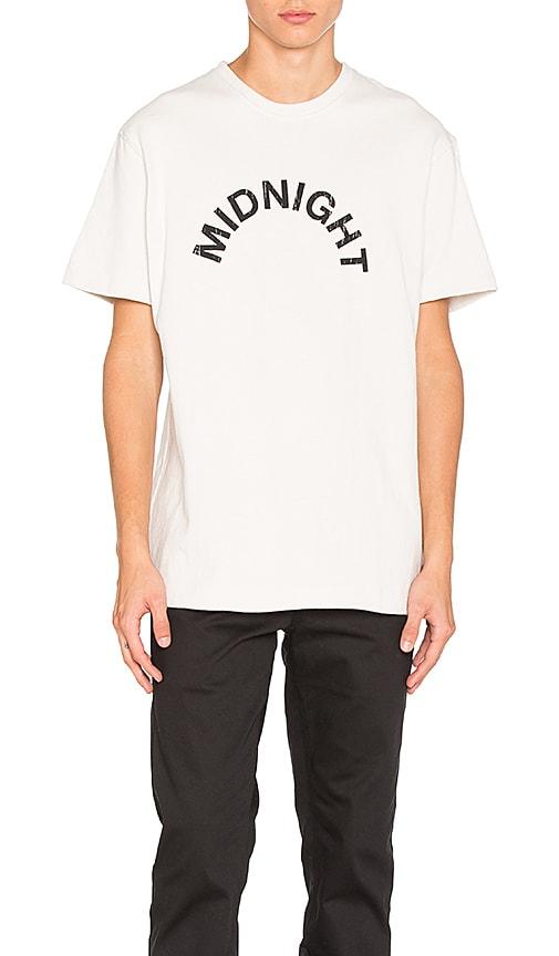 Midnight Studios Logo Tee in White