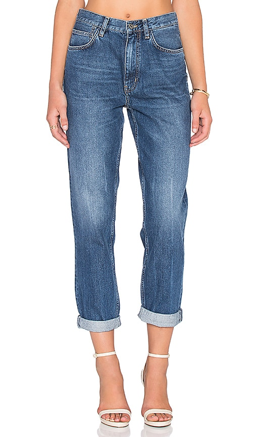 M.i.h Jeans Linda Boyfriend Jean in Runway Blue