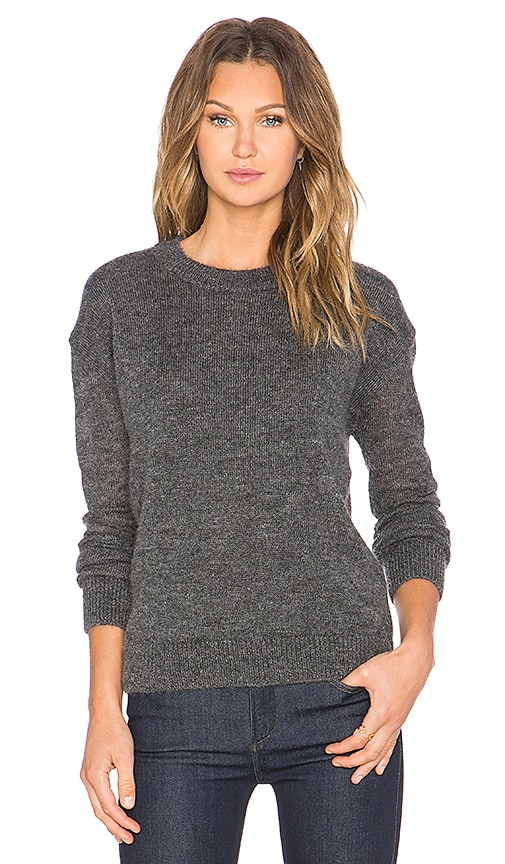 M.i.h Jeans Delo Sweater in Charocal