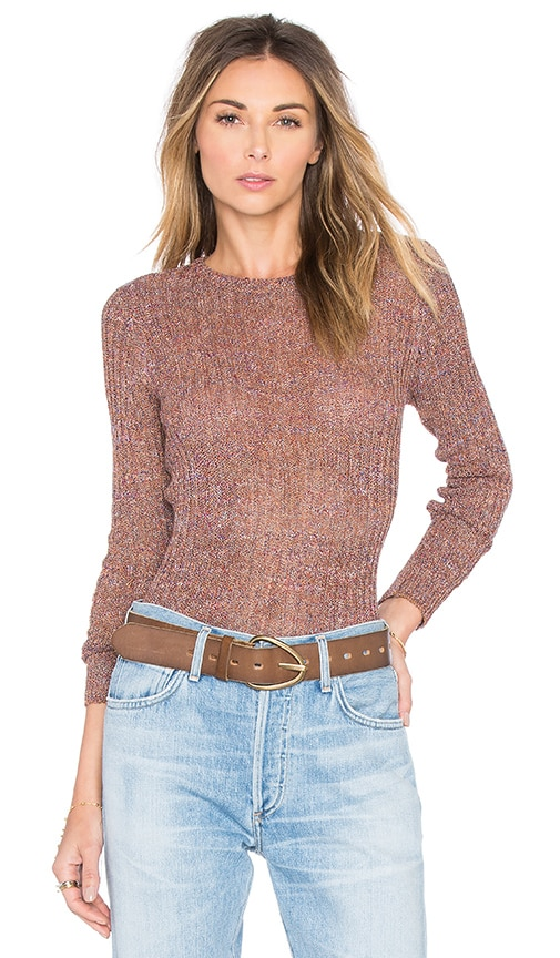 M.i.h Jeans Moonstone Sweater in Tan