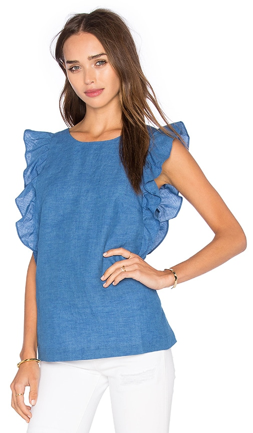 M.i.h Jeans Caval Top in Blue
