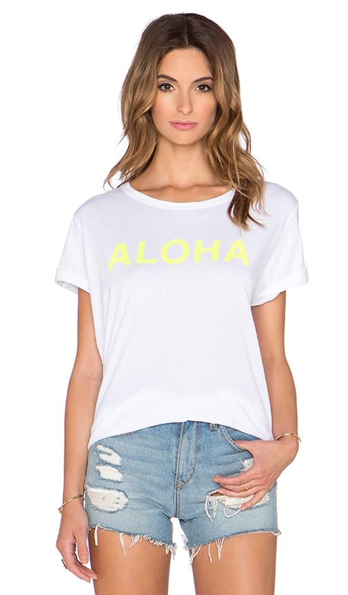 MIKOH Aloha Tee in Fluro