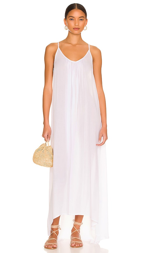 Biarritz Low Back Maxi Dress