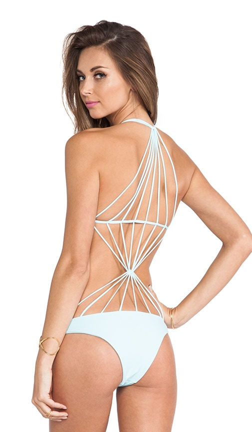 Swimwear Seychelles String Back One Piece