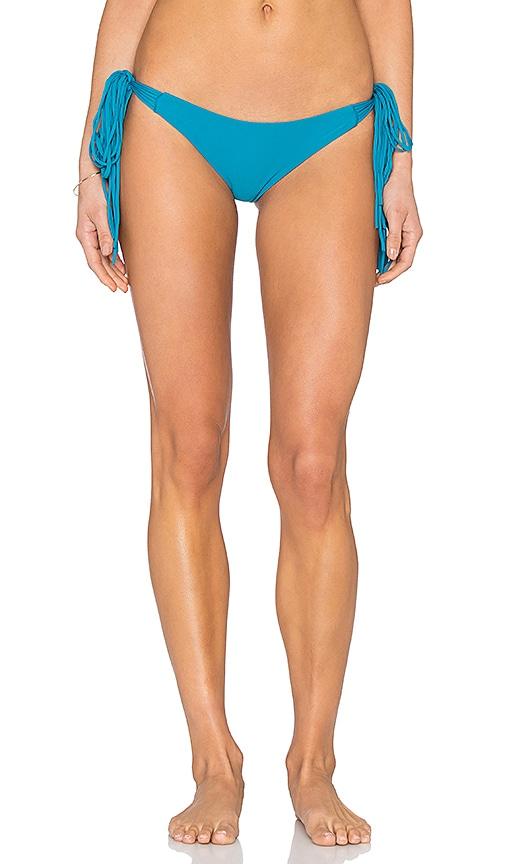 MIKOH Dreamland Side Tie Bikini Bottom in Marina
