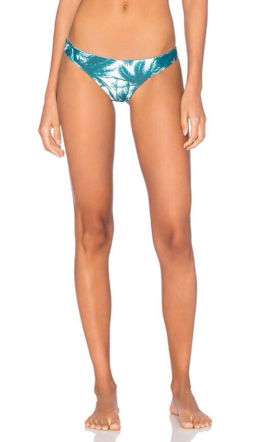 MIKOH Lahaina Minimal Bikini Bottom in Green