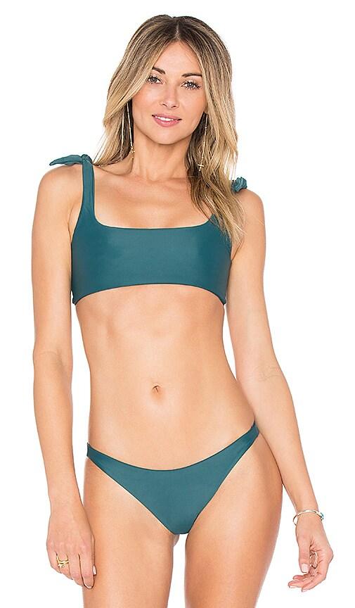 42e06616f93be Mikoh Jamaica Bikini Top In Green