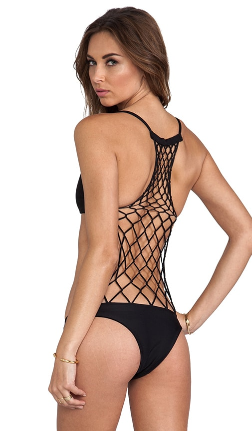 MIKOH Xavier One Piece in Black