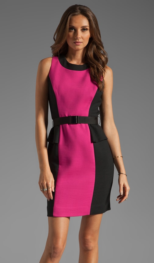 Doubleweave Olivia Belted Dress