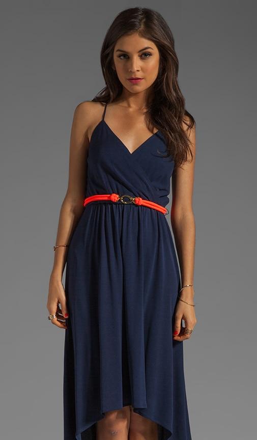 Italian Matte Jersey Jade Dress