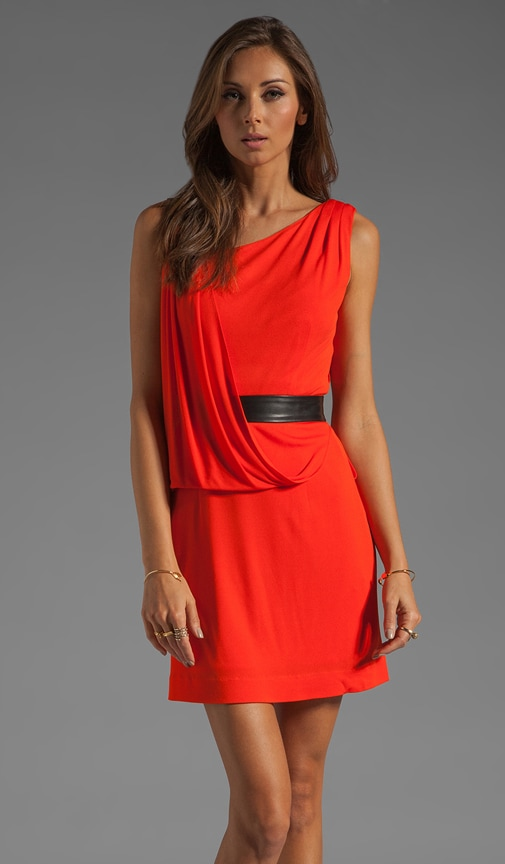 Italian Matte Jersey Iris Dress