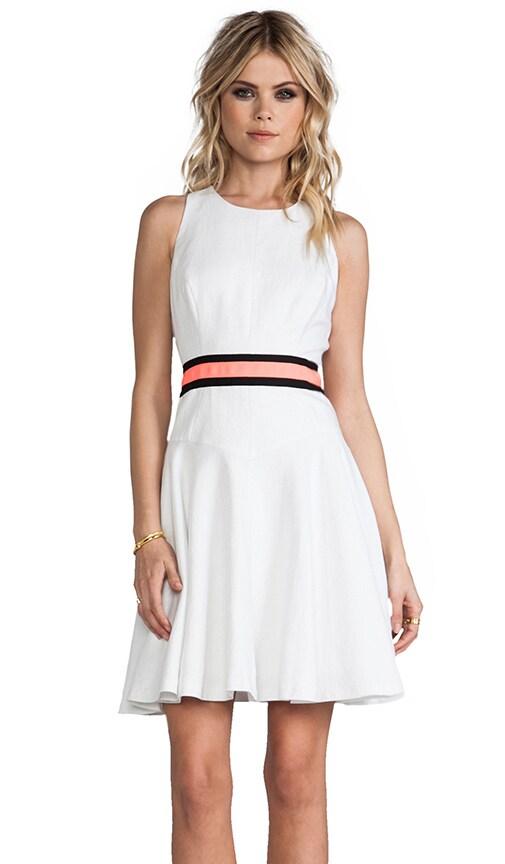 Shimmer Linen Circle Dress