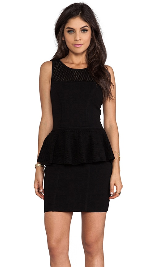 May Knits Nicole Peplum Dress