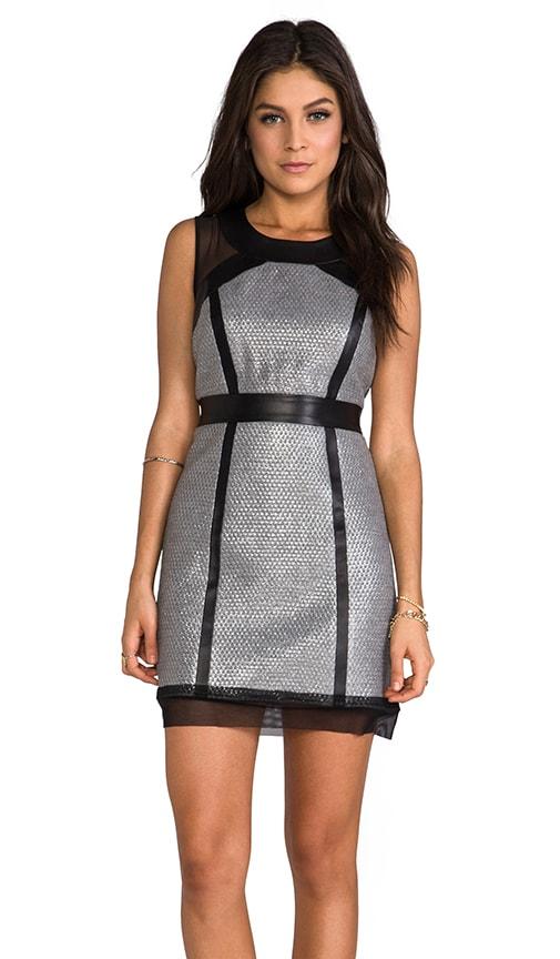 Laminated Italian Dress