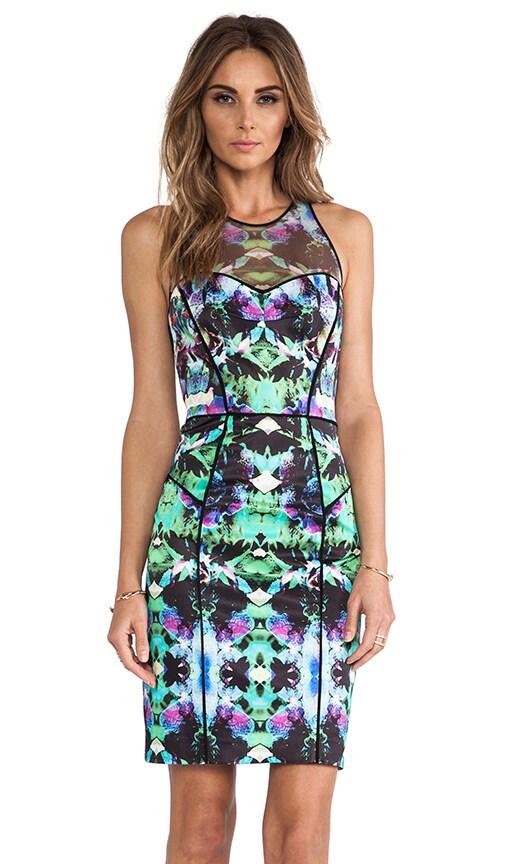 Mesh Racer Dress
