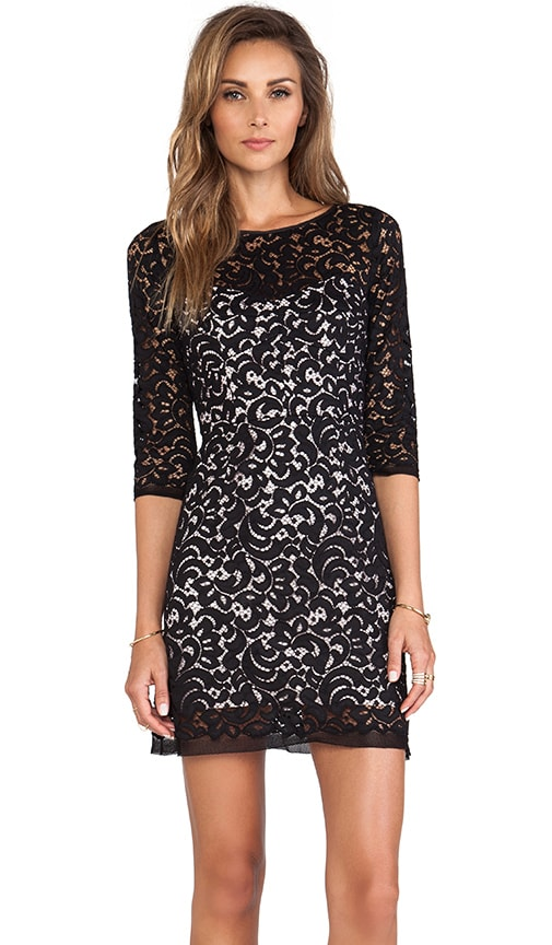 Floral Lace Ally Dress