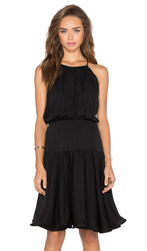 MILLY Madison Dress in Black