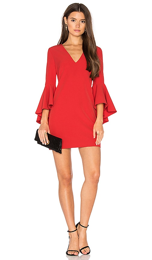 MILLY Nicole Dress in Red