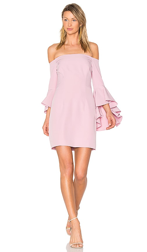 MILLY Selena Mini Dress in Pink