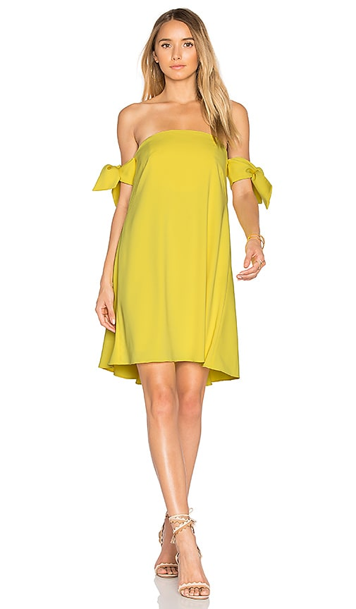 MILLY Jade Dress in Yellow