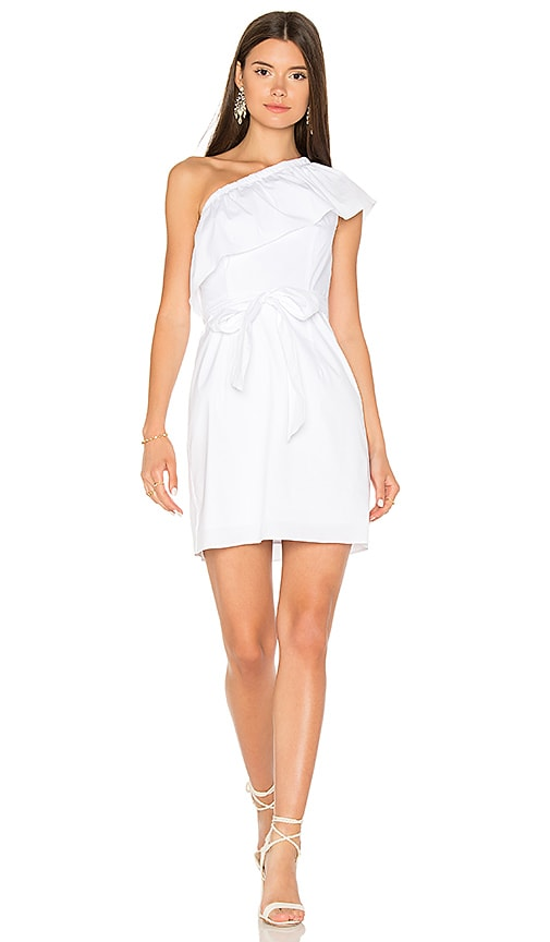 MILLY Tara Dress in White
