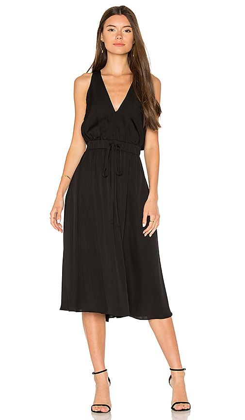 MILLY Reese Dress in Black