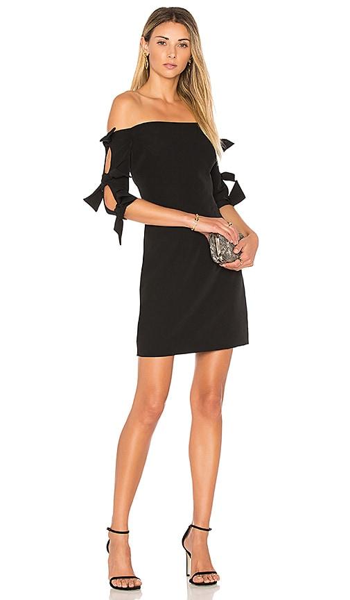 MILLY Caroline Dress in Black
