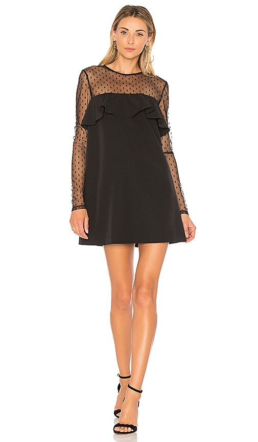 MILLY Sophie Dress in Black