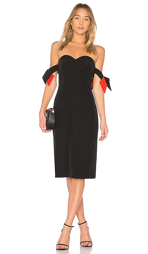 MILLY Brie Dress in Black