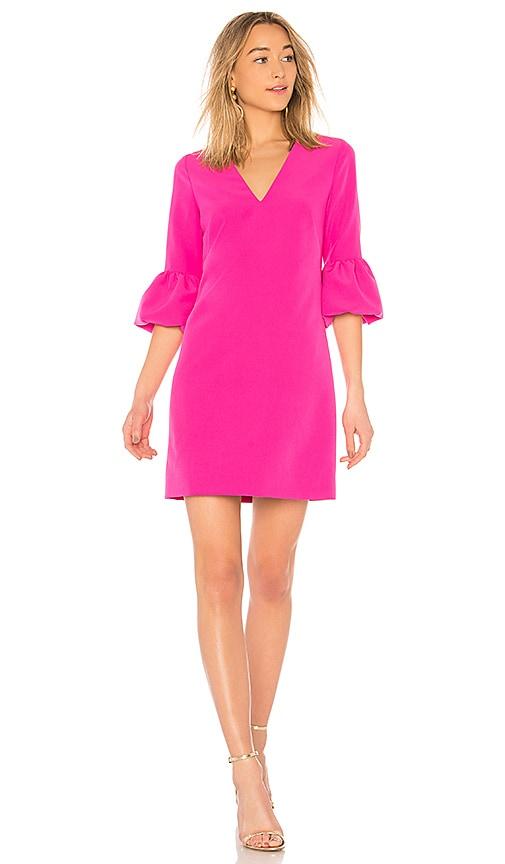 MILLY Mandy Dress in Fuchsia