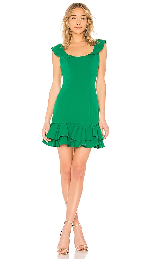 MILLY Savannah Dress in Green