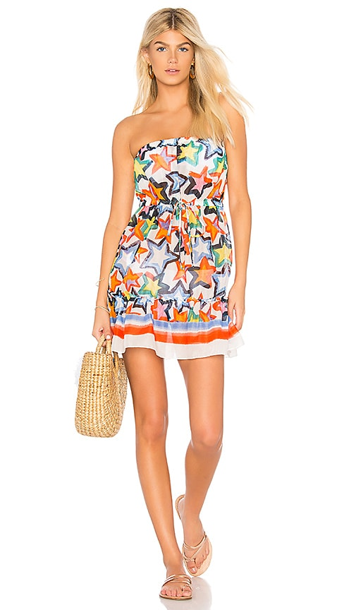 MILLY Becca Dress in White