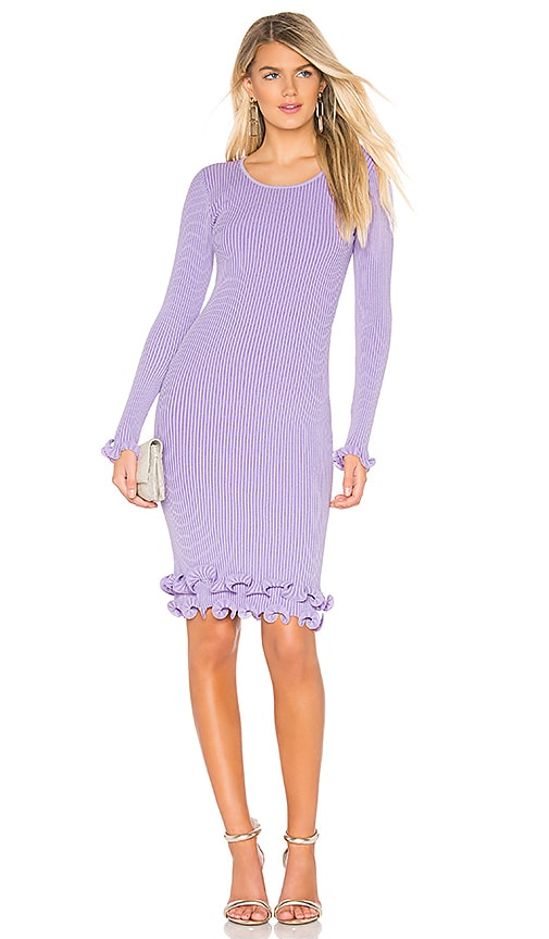 Wired Edge Fitted Dress