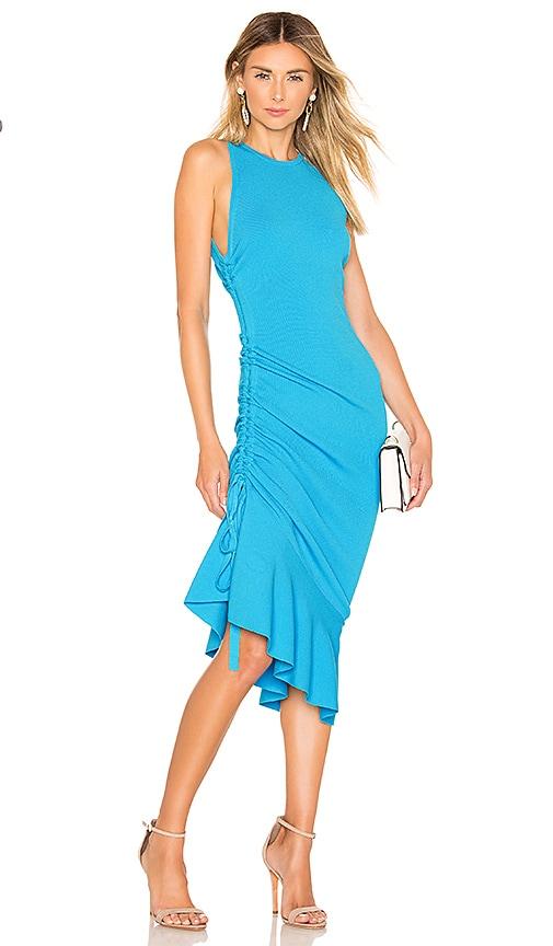 Shirred Side Dress