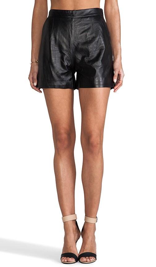 Laser Cut Leather Kelsey Short