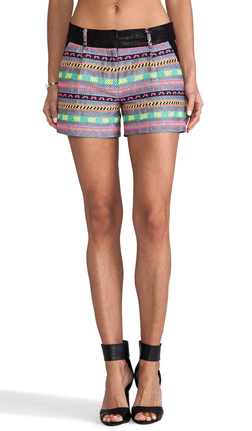 Aztect Couture Tweed Side Pocket Short