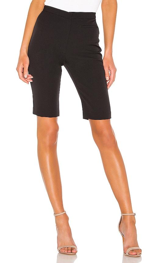 High Waist Skinny Bermuda Short