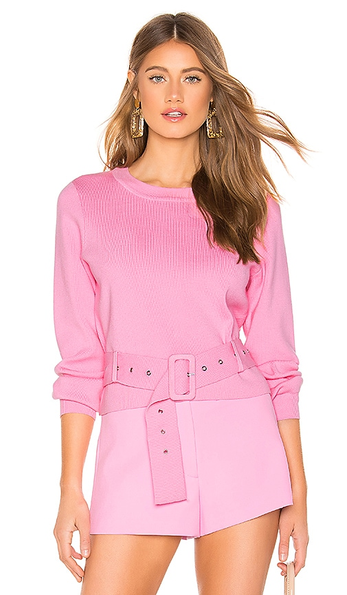Belted Pullover