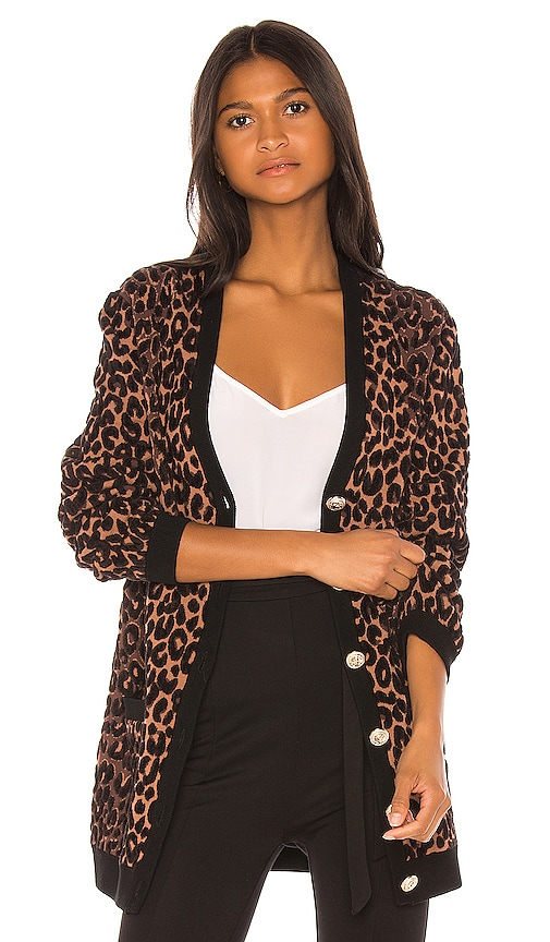 Cheetah Cardigan