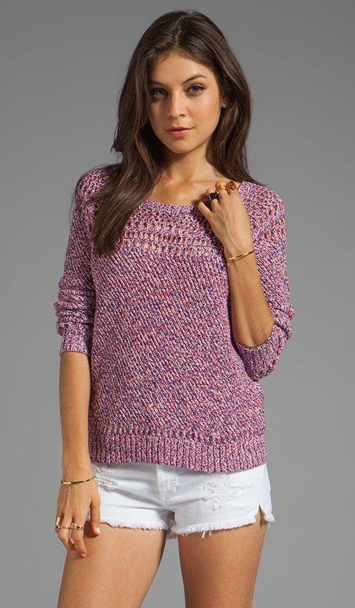 April Knits Claudia Melange Pullover