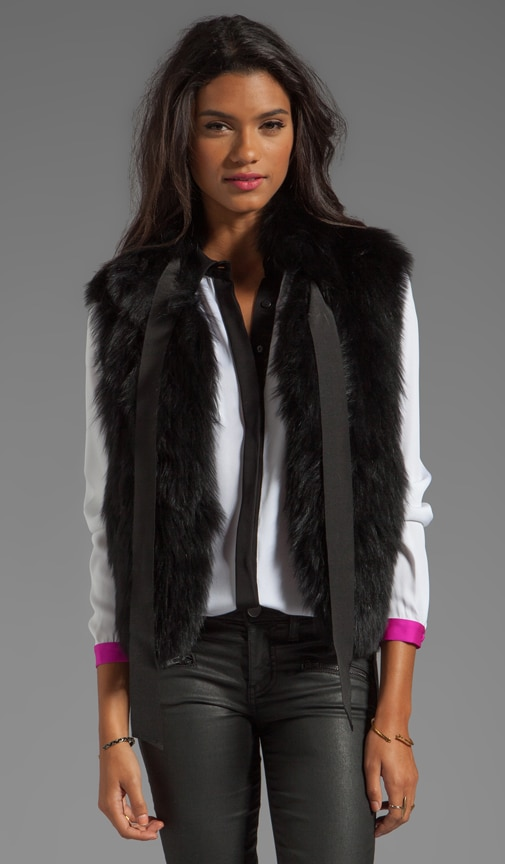 Featherweight Fur Madison Vest